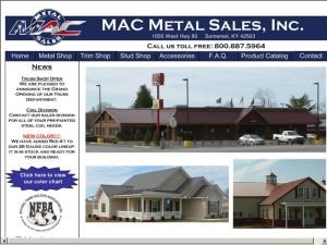 MAC Metal Sales, Inc.    Quality Metal Roofing U0026 Siding